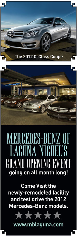 mercedes of laguna niguel the local dish magazine. Cars Review. Best American Auto & Cars Review