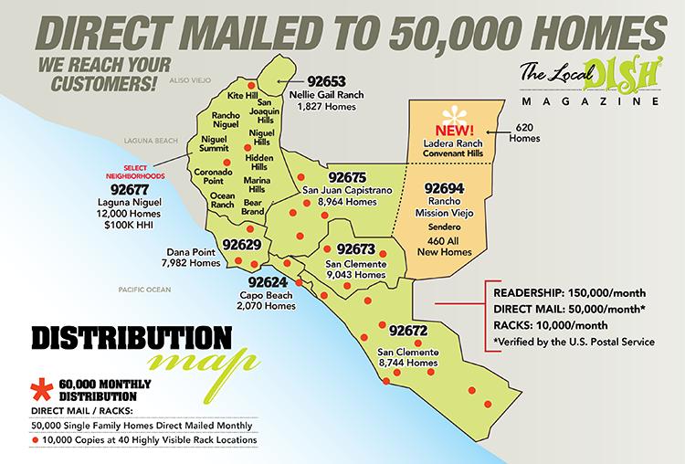 South Orange County Map