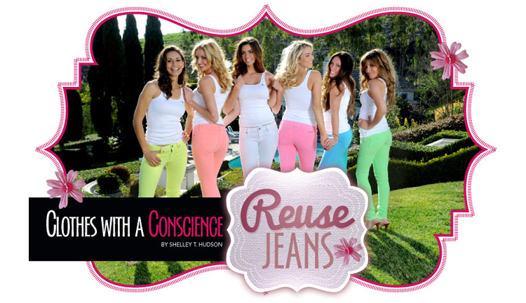 REUSE Jeans