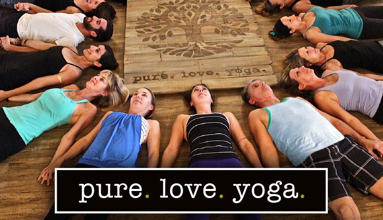 pure. love. yoga.