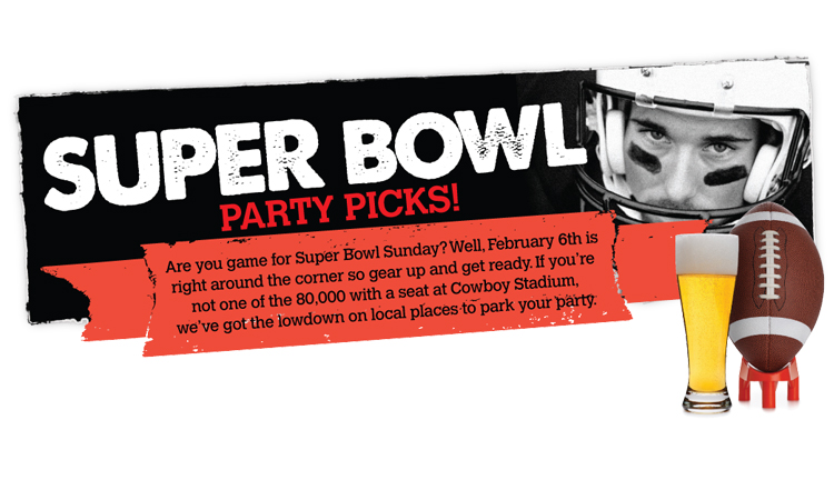 Super Bowl Party Picks