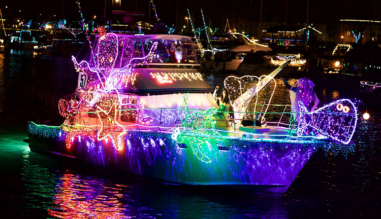 The 43rd Annual Boat Parade of Lights