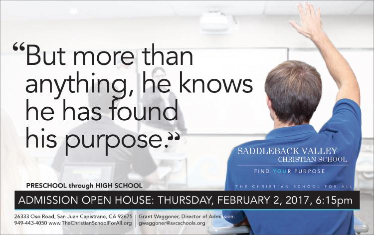 Saddleback Valley Christian School