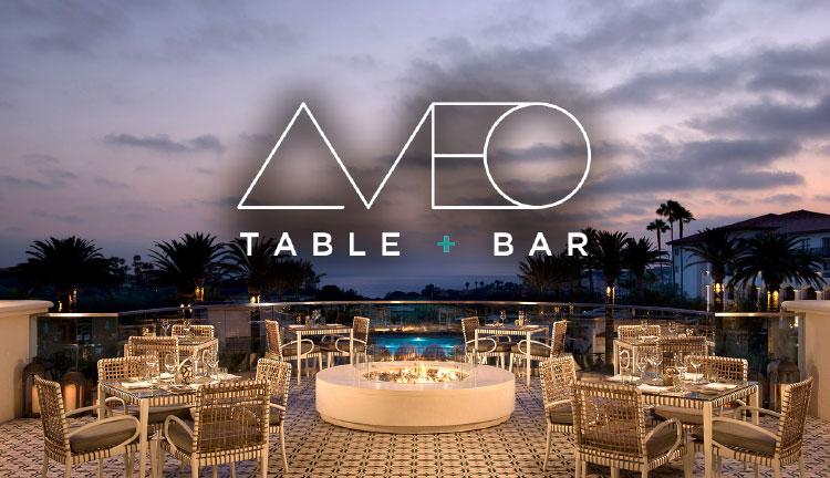 AVEO Table + Bar